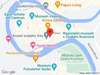 Kostel sv. Víta Český Krumlov map