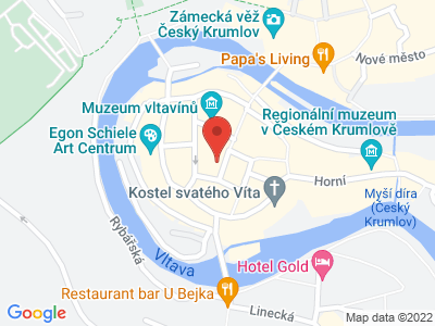 Český Krumlov map