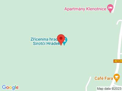 Sirotčí hrádek (zřícenina) map