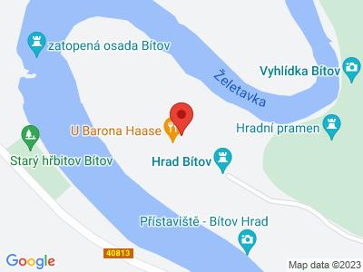Bítov (hrad) map
