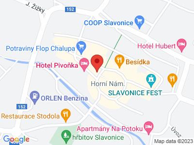Slavonice - Renaissance Town map