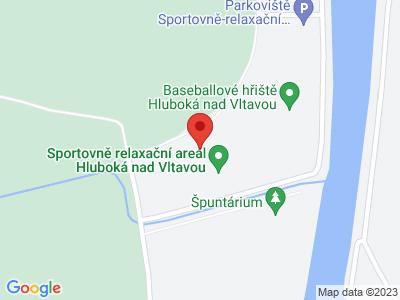 S dětmi do Adrenalin parku Hluboká nad Vltavou map