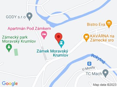 Moravský Krumlov (zámek) map