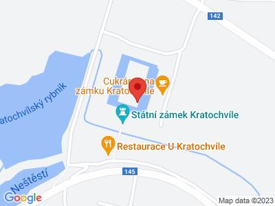 Kratochvíle (zámek) map