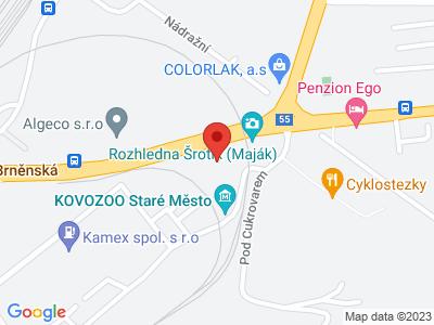 Kovozoo Staré Město - originální svět kovových zvířat map