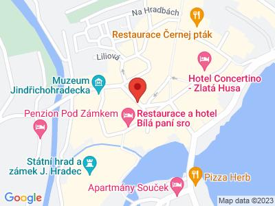 Jindřichův Hradec (zámek) map