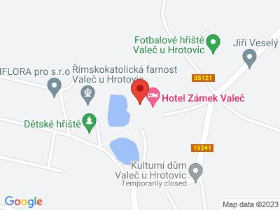 Valeč (zámek) map