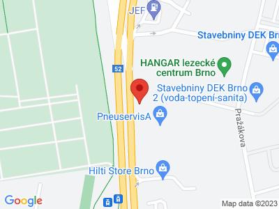 Bongo Brno map