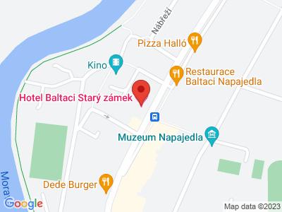 Napajedla (zámek) map