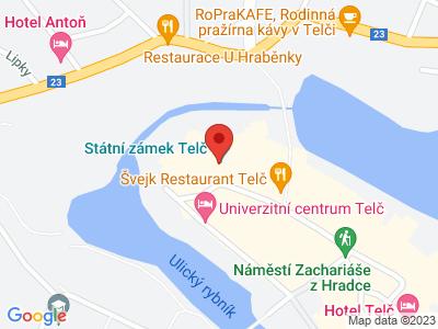 Telč (zámek) map
