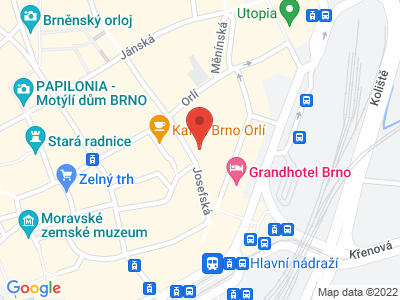 Kostel sv. Josefa Brno map