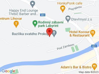 Třebíč (zámek) map
