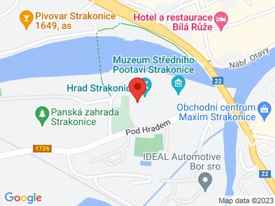 Strakonice (hrad) map