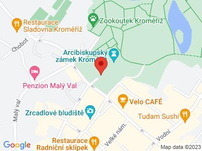 Kroměříž (zámek) map