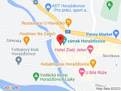 Horažďovice (zámek) map
