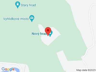 Neues Schloss bei Adamov (Ruinen) map