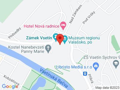 Vsetín (zámek) map