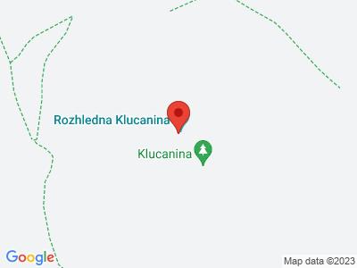 Klucanina lookout tower near Tišnov map