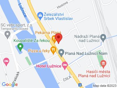 Planá nad Lužnicí - Košice - Chabrovice - Choustník - Planá nad Lužnicí map