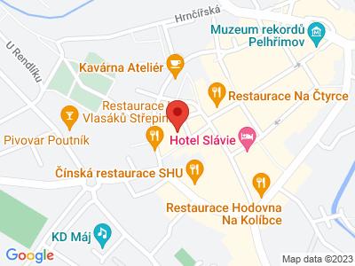 Pelhřimov (zámek) map