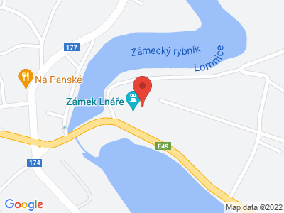 Lnáře (zámek) map