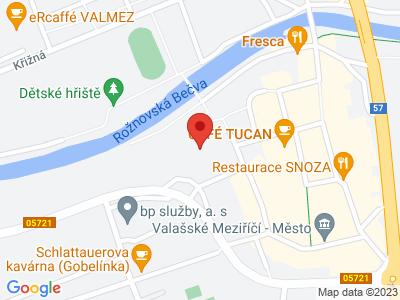 Valašské Meziříčí (zámek) map