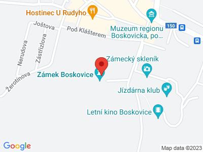 Boskovice (zámek) map