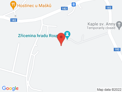 Roupov (hrad) map