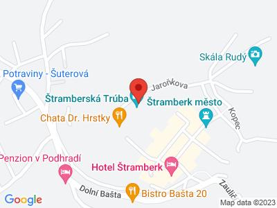 Štramberská Trúba map