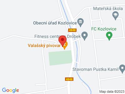 Obecná škola Kozlovice map