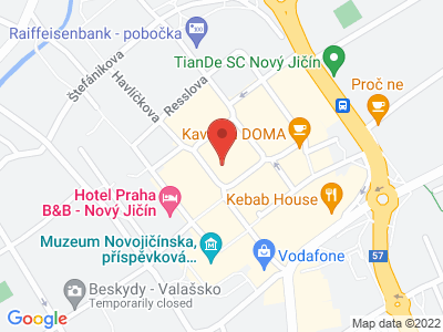 Nový Jičín map