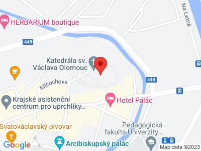 Katedrála sv. Václava Olomouc map
