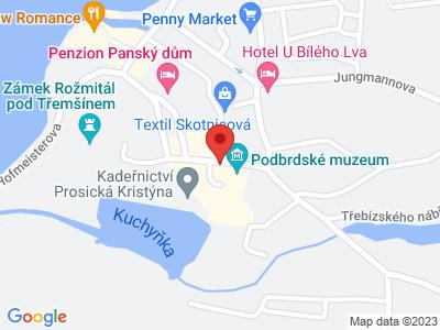 Podbrdské muzeum map
