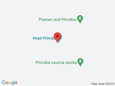 Přimda (zřícenina) map