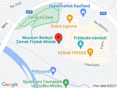 Frýdek-Místek (zámek) map