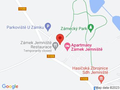 Jemniště (zámek) map
