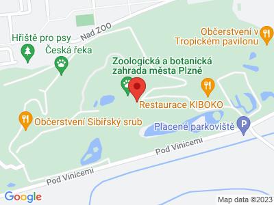 S dětmi za poznáním i zábavou do ZOO Plzeň map