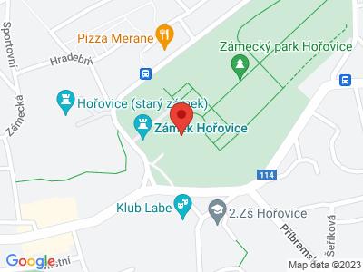 Hořovice (zámek) map