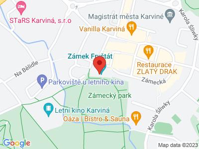 Fryštát Karviná (zámek) map
