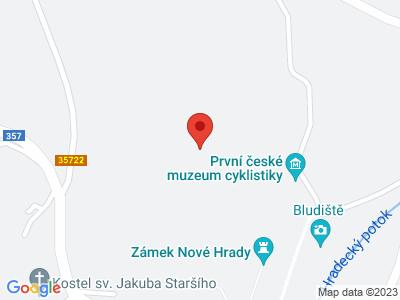 Nové Hrady (zámek) map