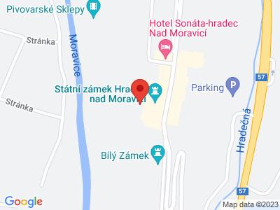 Hradec nad Moravicí (zámek) map