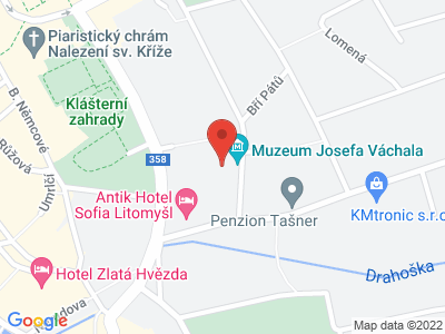 Portmoneum - muzeum Josefa Váchala map