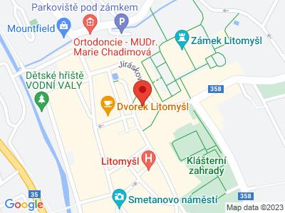 Regional Museum in Litomyšl map