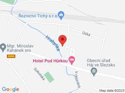 Naučná stezka Hájeckými chodníčky map