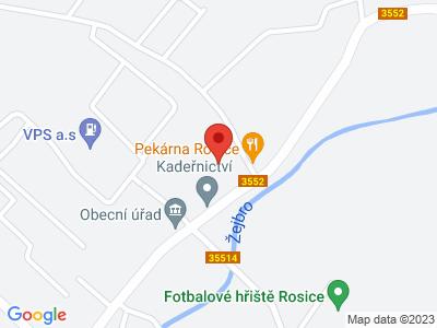 Rosice (zámek) map
