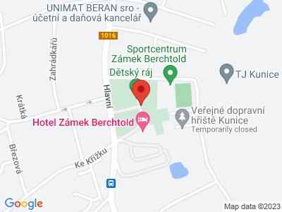 Dětský ráj zámek Berchtold map