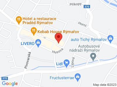 Městské muzeum Rýmařov map
