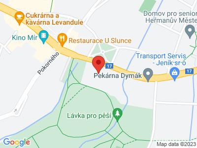 Heřmanův Městec (zámek) map