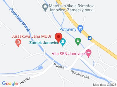 Janovice u Rýmařova (zámek) map