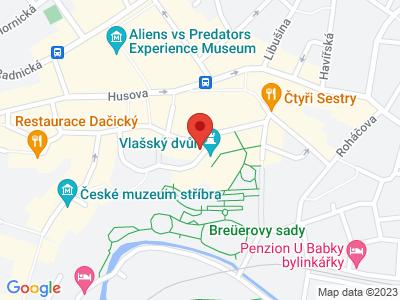 Kutná Hora - město stříbra map